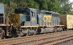 CSX SD40-3 #4015 on Q438-10