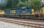 CSX SD40-3 #4007 on Q410-16