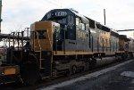 CSX SD40-2 #8410 on Q703-05