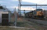 CSX ES40DC #5352 on Q439-05