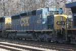 CSX SD40-3 #4017 on Q702-06