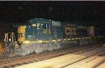 CSX SD40-3 #4012 on Q301-07