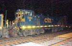 CSX MP15AC #1151 on Q410-08