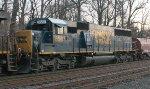 CSX SD50-2 #8587 on Q438-27