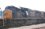 CSX SD70MAC #4537 on Q703-11