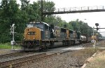 CSX SD70MAC #4537 on Q418-13