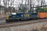 CSX SD50-2 #8507 on Q706-04