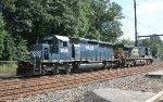 HLCX SD40-2 #8149 on Q418-16