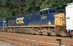 CSX ES40DC #5301 on Q418-16