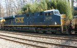 CSX ES40DC #5235 on L034-17