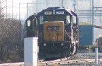 CSX GP38-2 #2795 in CSX Woodbourne Yard