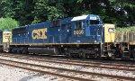 CSX SD50-2 #8666 on Q418-19