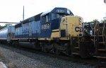 CSX SD40-2 #8059 on Q438-21