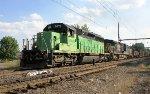 HLCX SD40-2 #8070 on Q418-24