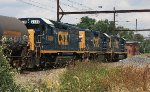 CSX GP40-2 #6130 on C770-26