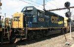 CSX GP40-2 #4429 on X410-24