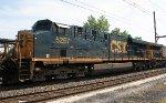 CSX ES40DC #5257 on Q438-25