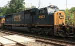 CSX SD70MAC #4503 on Q438-01