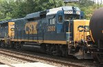 CSX Road Slug #2300 on Q438-01