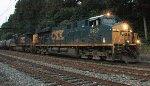 CSX ES40DC #5452 on Q409-02