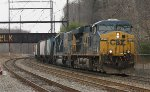 CSX ES40DC #5476 on Q439-16
