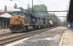 CSX ES40DC #5310 on Q410-13