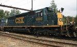CSX SD40-3 #4003 on Q410-13