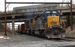 CSX SD40-2 #8158 on Q300-21
