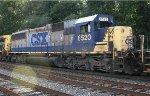 CSX SD50-2 #8520 on Q409-17