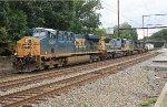 CSX ES40DC #5397 on Q438-15