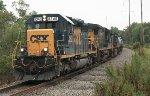 CSX SD40-2 #8240 on Q418-23