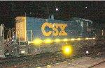 CSX SW1001 #1124 on Q438-22