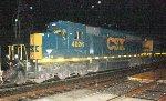 CSX SD40-3 #4026 on Q417-24