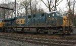 CSX ES40DC #5500 on Q439-31