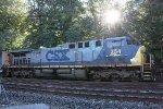 CSX AC4400CW #354 on Q300-08