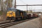 CSX ES40DC #5443 on Q439-14