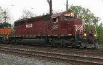 HLCX SD40-2 #6257 on Q301-21