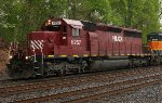 HLCX SD40-2 #6257 on Q300-22