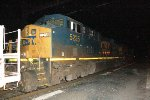 CSX ES40DC #5235 on Q741-25