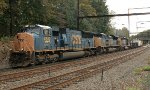 CSX SD70MAC #4819 on Q438-19