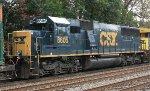 CSX SD50-2 #8605 on Q703-21