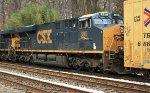 CSX ES44AC #880 on Q438-01
