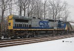 CSX C40-9W #9002 on Q418-08