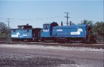 Switcher and Caboose