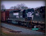 NS SD40-2 3210 on 337