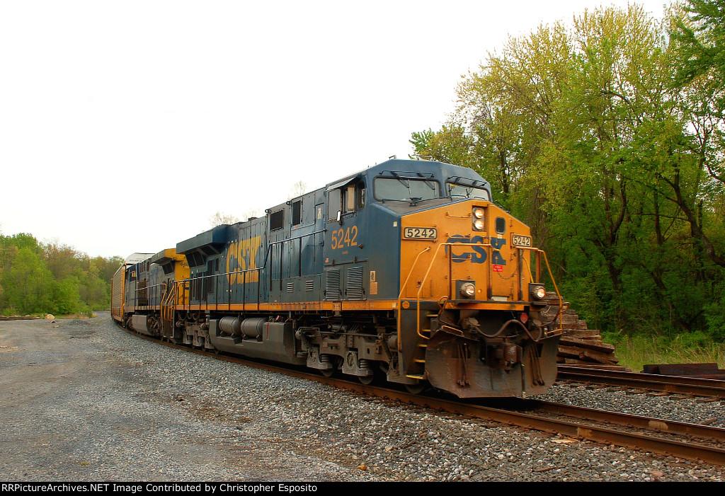 CSX ES40DC 5242