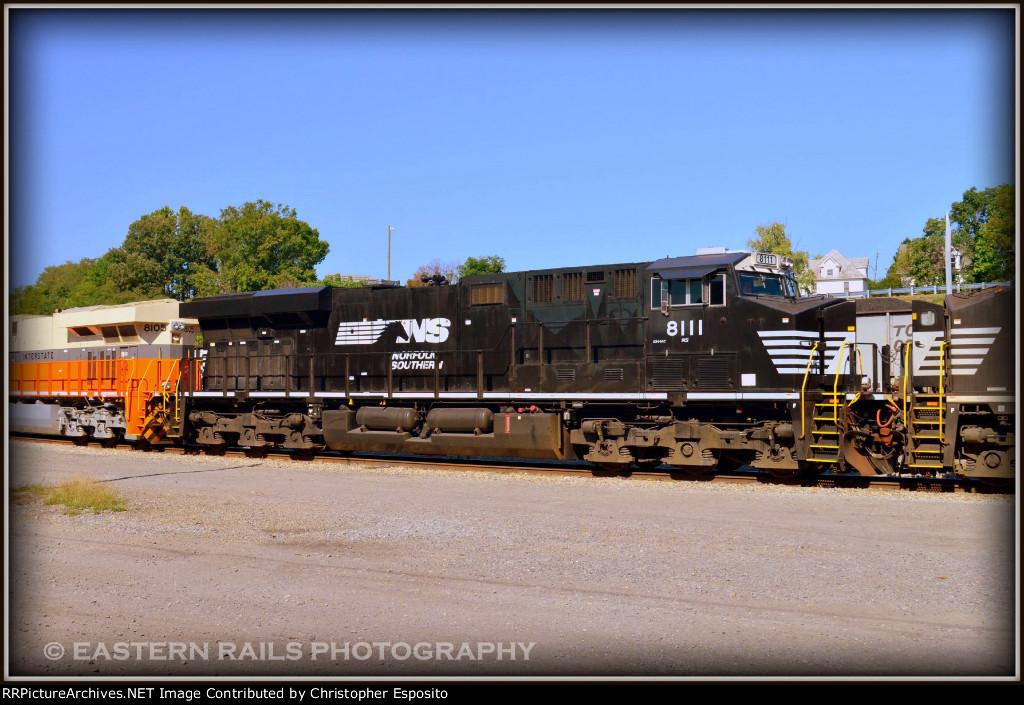 NS ES44AC 8111 in South Yard (Taken w/ Permission)