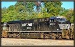 NS ES44AC 8074 in South Yard