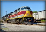 NS Lackawanna Heritage SD70ACe 1074 in South Yard (Taken w/ Permission)