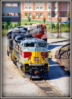 NS Lackawanna Heritage SD70ACe 1074 in South Yard